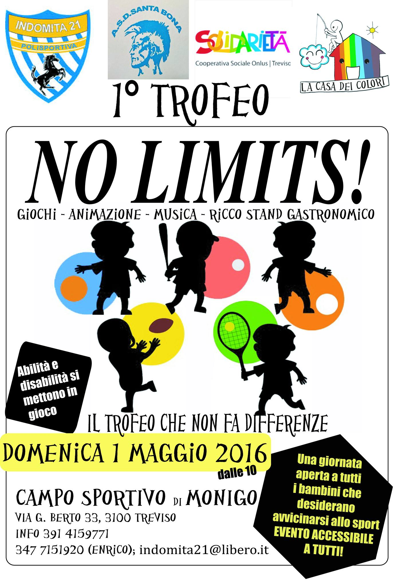Primo Trofeo NO LIMITS!