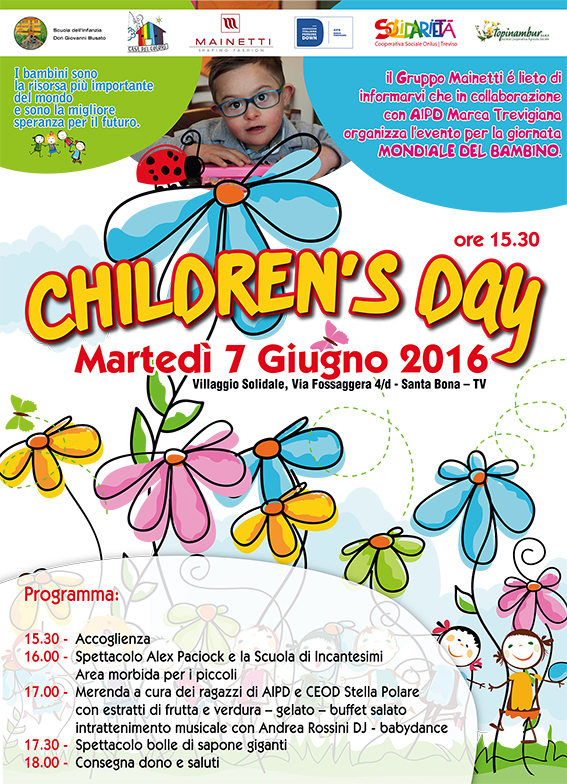 Children's Day | 7 giugno