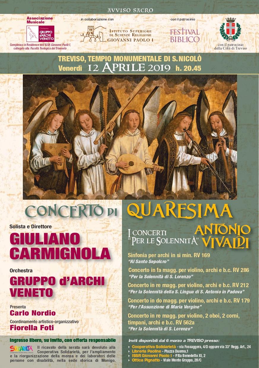 """Concerto del """"Gruppo d'Archi Veneto"""""""